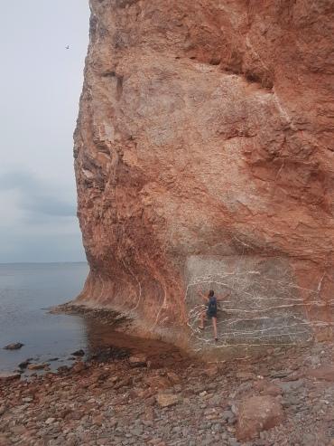 Rocher Percé - versuchte es trotzdem